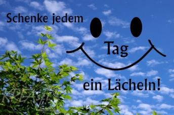 schenke jedem TAg ein Lächeln