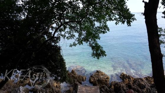 glasklares Wasser in der Zelena Laguna